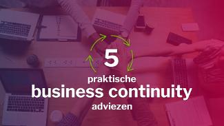 Business Continuity advice
