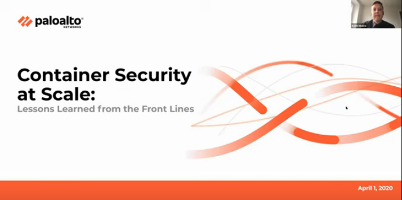 Container security at scale